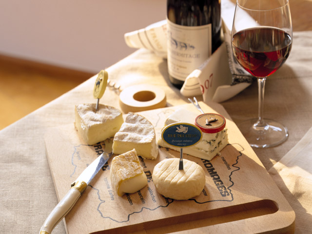 Wine and Cheese. It's good for the soul.