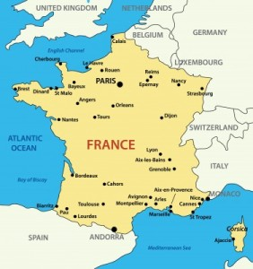 map france cities