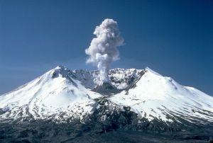 Mount Saint Helens, post her 1980 eruption