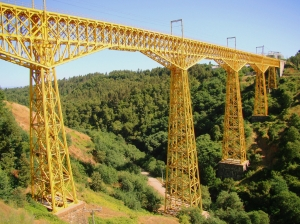 The Malleco Viaduct - photo by Marcelo Reston