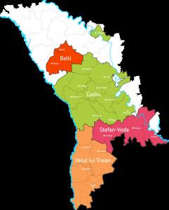 Map via the Wine of Moldova site: http://wineofmoldova.com/en/