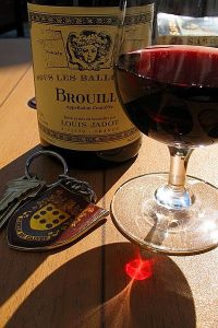 Photo of Louis Jadot Brouilly by Rob Ireton, via Wikimedia Commons