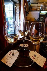 Flight of Fino Sherries at London's Bar Pepito – Photo by Ewan Munro via Wikimedia Commons