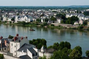 Panorama of Saumur