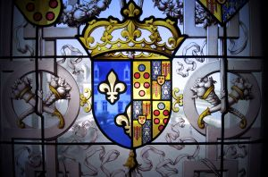 Close-up of a window in Château de Chaumont (Chaumont-sur-Loire)