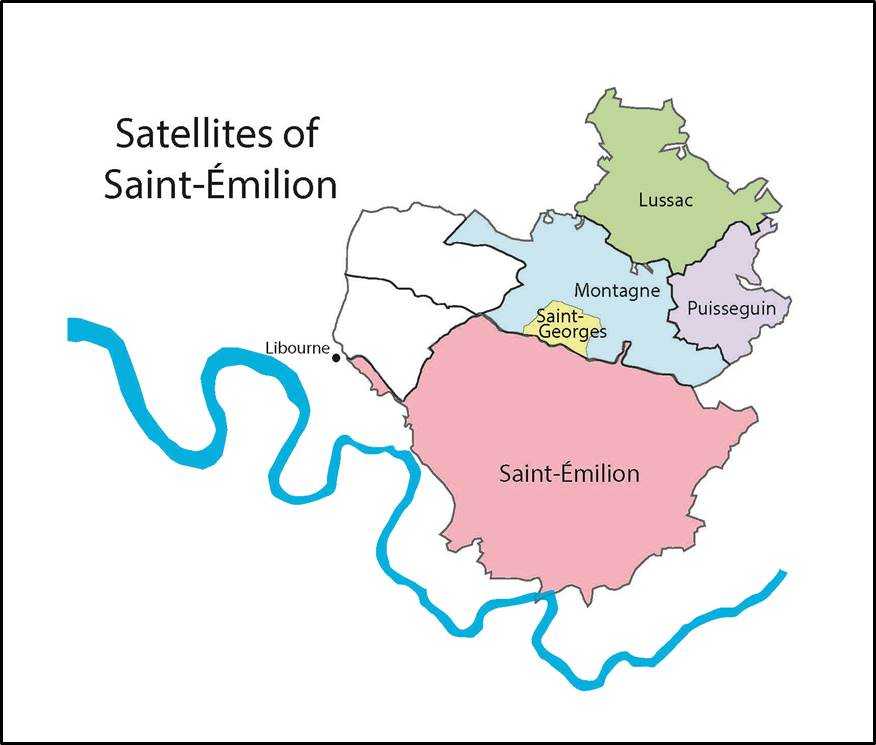 Of Saints and Satellites | The Bubbly Professor on rheinhessen map, chinon map, st julien bordeaux france map, st nazaire map, pauillac map, margaux map,