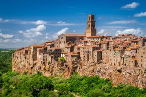 Cliff-side houses of Pitigliano