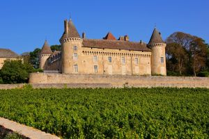 Château de Rully in the Côte Chalonnaise