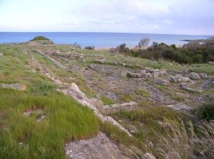 The archeological site of Helorus (photo in the public domain)