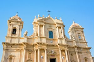 Baroque Church of San Francesco in Noto