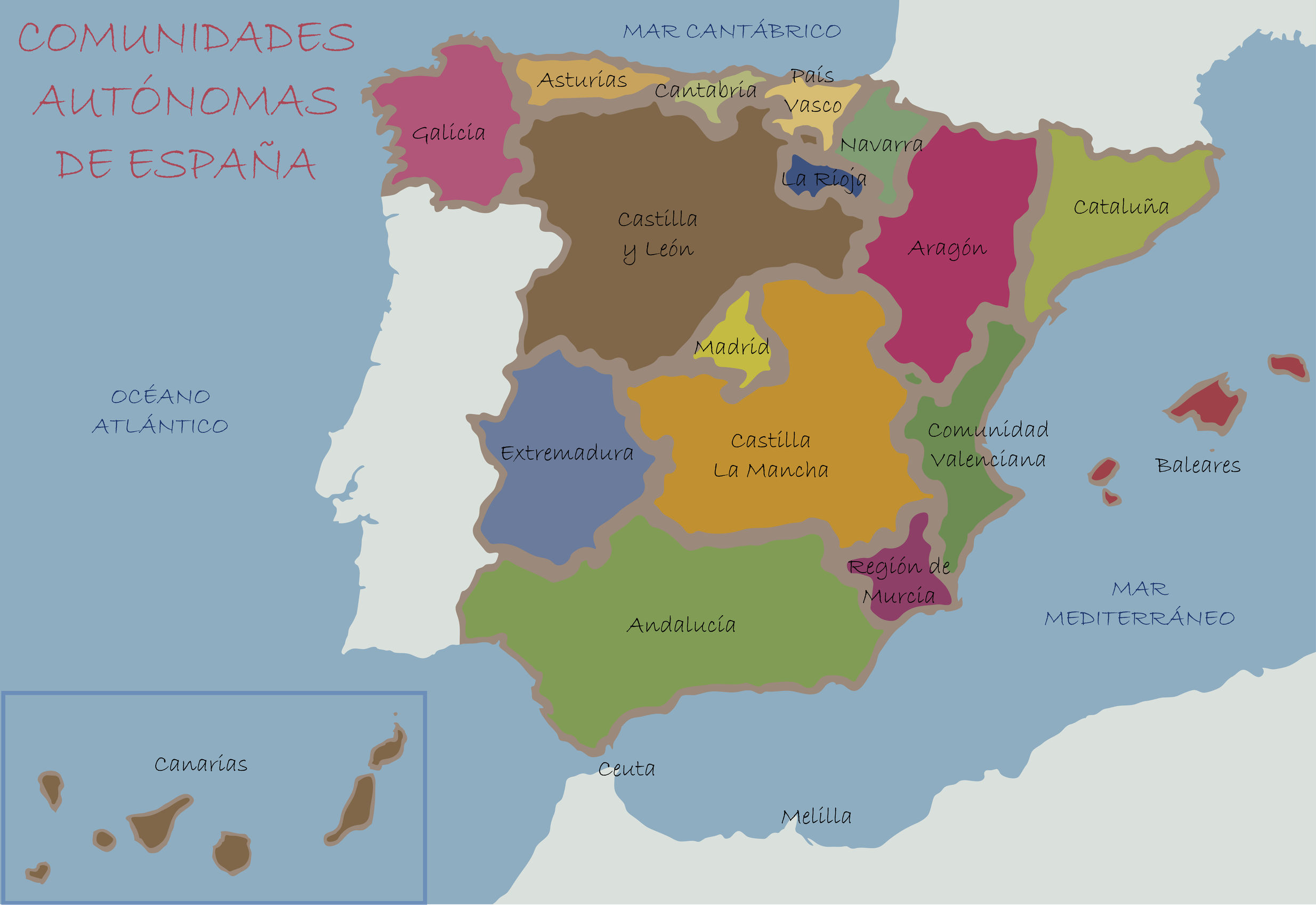 Calatayud Spain Map.Confusion Corner Catalunya And Calatayud The Bubbly Professor