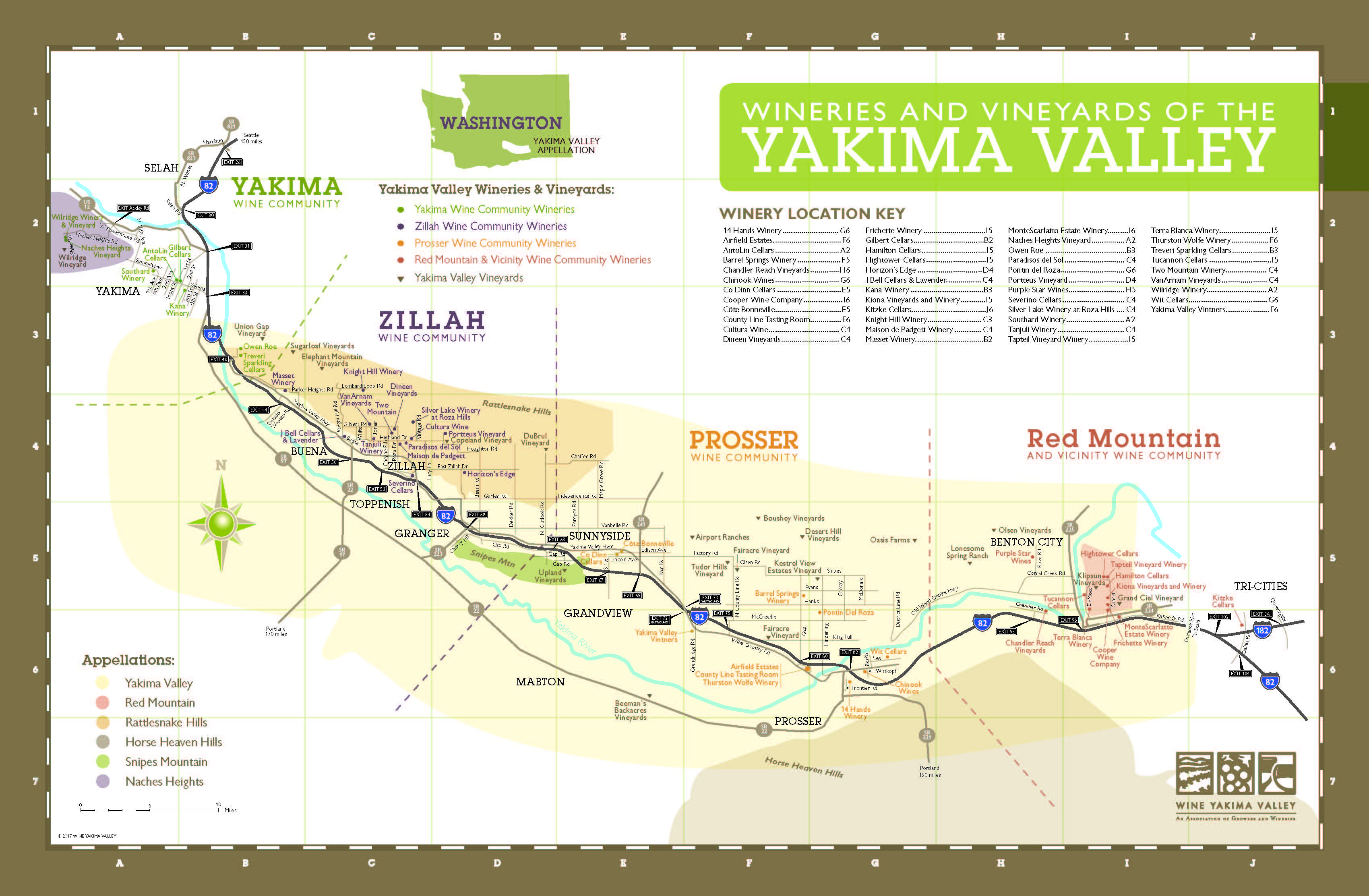 Five Fast Facts about the Yakima Valley AVA The Bubbly Professor