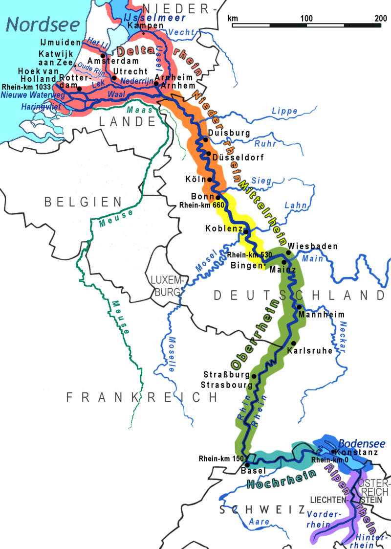 Rivers Of Germany Map.Un Study Techniques Watch The River Run The Bubbly Professor