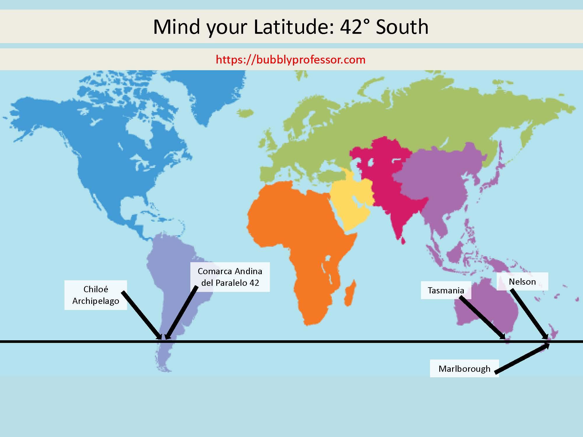 Mind Your Latitude  42 U00b0 South